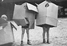 Back in the day when all kids needed was a cardboard box for hours of entertainment. It could be a boat, spaceship, car, house, robot, etc. It breaks, just head to the nearest dumpster for a new one. LOL