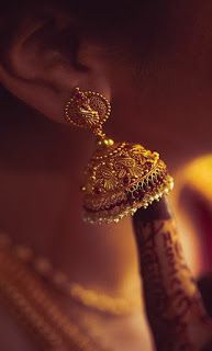 Jhumkas are always special. They make you feel young at heart and beautiful inside out!