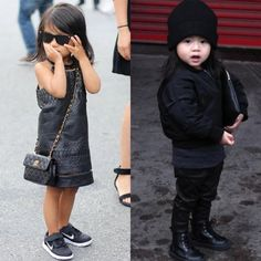 Aila Wang is kind of everything. #cute #fashion