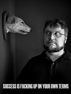 Guillermo Del Toro. Part giant kid who dreams up monster battles and creatures, and part one of the most sensitive visionaries to ever live.