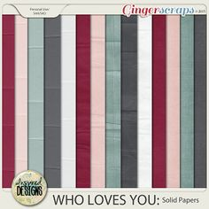 WHO LOVES YOU: Solids