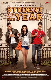 Student of the Year with Siddharth Malhotra, Varun Dhawan, and Alia Bhatt