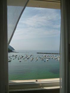 "Panorama, Camera di ""Hotel Miramare Sestri Levante"", Sestri Levante Liguria Italia (Luglio) Sestri Levante, Hotel, Airplane View, Coastal, Windows, World, The World, Window, Earth"