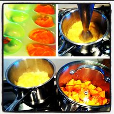 organic baby food batches