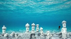 Deerfield Beach Readies For New Easter Island Themed Artificial Reef (article written April 21, 2015)  Rendering of Rapa Nui Artificial Reef. (Source:  Sunny.org)
