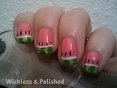 Wickless & Polished!: Watermelons!