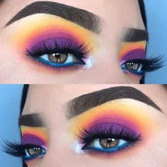 Gorgeous Makeup: Tips and Tricks With Eye Makeup and Eyeshadow – Makeup Design Ideas Makeup Eye Looks, Eye Makeup Art, Cute Makeup, Eyeshadow Makeup, Eyeshadows, Gorgeous Makeup, Makeup Salon, Eyeshadow Palette, Makeup Brushes