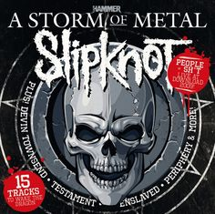 Slipknot, Testament, Enslaved, Periphery, Devin Townsend Project Feature On FREE Storm Of Metal CD With The New Issue – ON SALE TOMORROW