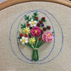 Getting to Know Brazilian Embroidery - Embroidery Patterns Brazilian Embroidery Stitches, Hand Embroidery Stitches, Embroidery Jewelry, Hand Embroidery Designs, Ribbon Embroidery, Beaded Embroidery, Embroidery Flowers Pattern, Flower Patterns, Diy Broderie