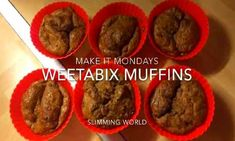 Slimming World Recipes Syn Free Weetabix Cake Slimming World, Slimming World Muffins, Slimming World Biscuits, Slimming World Recipes Uk, Slimming World Puddings, Slimming World Syns, Weetabix Muffins, Weetabix Recipes, Zabaglione Recipe