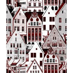 Bergen, Wallpaper, Vallila, Finnish Design, February 2016