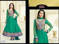 Fabric Details :: Top :- 60 Grams ~Georgette | Bottom :- Semi Shantoon | Inner :- Semi Shantoon | Dupatta :- Nazneen | Price : ₹ 2,399 /-