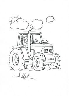 Preschool Coloring Pages 09