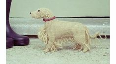 Firebox Knit Your Own Dog Kit (Golden Retriever) From yarn and needles to stuffing and pipe cleaners, these crafty canine kits contain everything you need to knit your own loyal companion. Theyre just the right size, and with the supremely easy-to-f http://www.comparestoreprices.co.uk/gift-ideas/firebox-knit-your-own-dog-kit-golden-retriever-.asp
