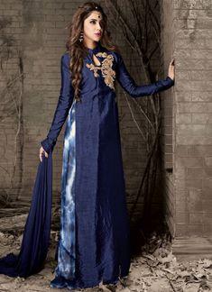 Bollywood Party Bridal New Ethnic Indian Salwar Pakistani Designer Anarkali Gown Designer Anarkali, Designer Salwar Suits, Designer Suits Online, Designer Wear, Lehenga Style, Lehenga Choli, Abaya Style, Pakistani Dresses, Indian Dresses