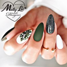 Harry Potter Bag, Nails, Beauty, Green, Finger Nails, Ongles, Beauty Illustration, Nail, Nail Manicure