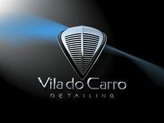 """Logotipo criado pela Ópera para a empresa Mineira de """"detailing"""" Vila do Carro."""