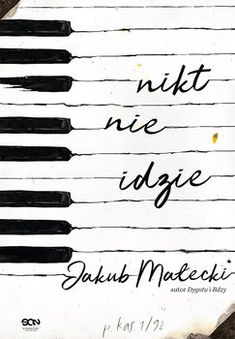 Nikt nie idzie-Małecki Jakub Graphic Design Posters, Book Cover Design, Books To Read, Calligraphy, Reading, Quotes, Book Covers, Illustrations, Author