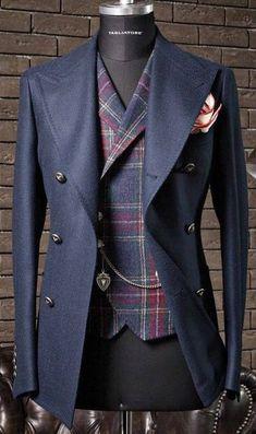 "Nachrichtenmaterial: ""New Sprezzatura"" - Mode - Anzug Dress Suits For Men, Suit And Tie, Men Dress, Fashion Mode, Fashion Night, Look Fashion, Fashion Trends, Sharp Dressed Man, Well Dressed Men"