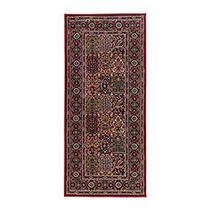 "VALBY RUTA rug, low pile, multicolor Length: 5 ' 11 "" Width: 2 ' 7 "" Surface density: 5 oz/sq ft Length: 180 cm Width: 80 cm Surface density: 1531 g/m²"