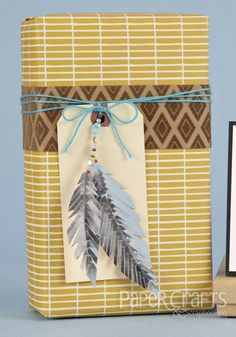 Amanda Coleman | Native American Inspiration | paper crafted homemade gift box