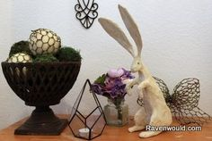 <p>Easter is still a little while away. We haven't even made it to Ash Wednesday yet, but I have this project that has been sitting for awhile and I can't wait to share my vintage looking rabbit any longer. I…</p>