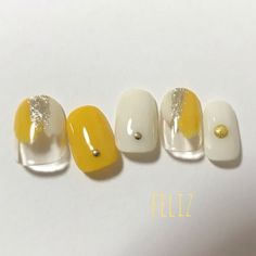New Year's Nails, Pink Nails, Hair And Nails, Red Nail, Pastel Nails, Nail Nail, Manicure Y Pedicure, Shellac Nails, Yellow Nail Art
