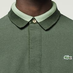Green croc, green collar, green polo. To all the green lovers out there, don't just walk to your nearest Lacoste Boutique to get the new Urban Polo from the #GolfMountain collection, run!
