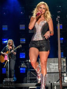 Backstage Access: Miranda Lambert at CMA Music Festival | http://www.countryoutfitter.com/style/miranda-lambert-cma-fest/