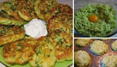 Food and Drink Ideas – Zucchini Ricotta Fritters Recipe – Insanely Delicious Recipes Ever Ricotta Fritters, Zucchini Fritters, No Salt Recipes, Keto Recipes, Cooking Recipes, Sauteed Carrots, Good Food, Yummy Food, Food Cakes