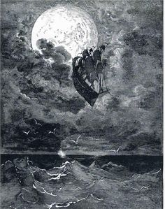 Voyage to the Moon, Gustave Dore