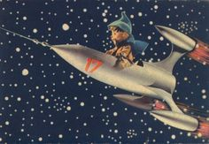 "This site has a collection of ""aerospace themed Christmas and New Years"" cards!"