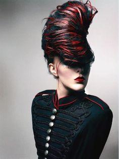 hair: Thomas Mørk / Norwegain Avant Garde Hairdresser 2013 nominee