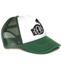DEUS Spinach Trucker cap - green
