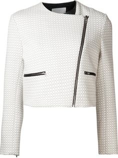 THAKOON ADDITION Quilted Jacket