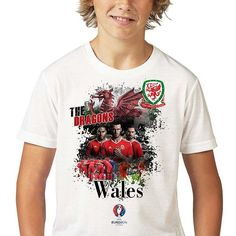 Robert Lewandowski, Gareth Bale, Wales, Euro, Champion, Football, Kids Boys, Poland, Dragons
