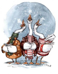 Christmas-card 09 a by ~cidaq on deviantART