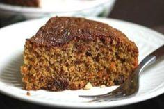 Λαχταριστό και ζουμερό κέικ με τριμμένα καρότα για το πρωινό σας. Whole Wheat Carrot Cake, Sugar Free Desserts, Healthy Sweets, Greek Recipes, Let Them Eat Cake, Food Photo, Cake Recipes, Diet Recipes, Recipies