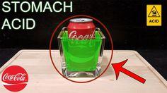 ❝ Un experimento simula qué sucede cuando la Coca-Cola se mezcla con el ácido del estómago ❞ ↪ Vía: Entretenimiento y Noticias de Tecnología en proZesa