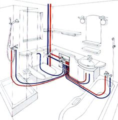 This    diagram    of a typical    DWV    system is called a plumbing tree   Bathroom in 2019   Plumbing