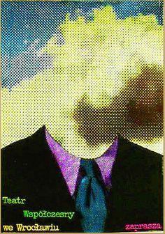 ROMAN CIESLEWICZ (1930-1996)  Contexto: Años 60s 70s ÉPOCA DORADA de la escuela del cartel polaco.  Su estilo:  Relación con el cine y teatro underground de vanguardia polaca. _Técnica COLLAGE _Imágenes de MEDIO TONO (escala de grises) usando los PUNTOS DE TRAMA como TEXTURA. Le dio un nuevo uso a la tipografía, la fotografía y los puntos de trama.