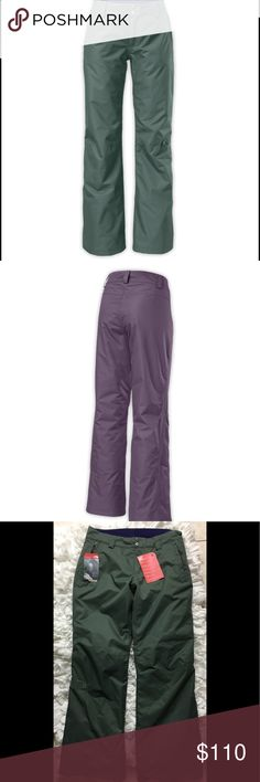 The North Face winter pant DETAILS  Dependability and durability meets streetwear-inspired design with these waterproof pants that are insulated (60 g) for breathable warmth during cool-to-cold days shredding the slopes.  Waterproof freeride pants insulated for breathable warmth during cool-to-cold days on the slopes Waterproof, breathable, fully seam sealed Belt loops Hand zip pockets Gaiter with gripper elastic. The North Face Pants
