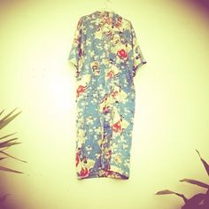 Kimono Azul Talla M 12 €