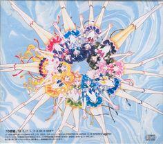 Sailor Senshi, artwork by Naoko Takeuchi for Sailormoon