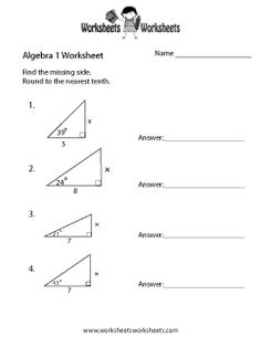 Fine Practice Worksheets Algebra 1 that you must know, Youre in good company if you?re looking for Practice Worksheets Algebra 1 Algebra Worksheets, Teacher Worksheets, Free Printable Worksheets, School Worksheets, Math Teacher, Printables, Triangle Worksheet, Interactive Student Notebooks, Ninth Grade