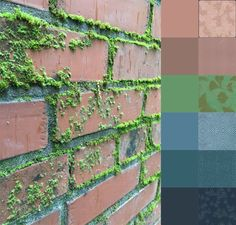 Brick Wall #ColorPlayFriday #color #palette #colorinspiration #123quilt https://123quilt.blogspot.com/2016/06/color-play-friday-brick-wall.html