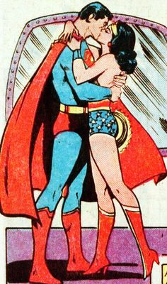 DC Comics Presents #32 Superman and Wonder Woman (1981)..favorite comic book couple, ever