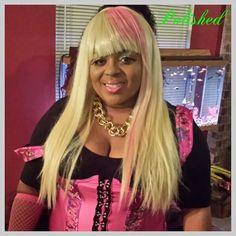#POLISHED Celebrity Look-a-like Makeover :: Nicki Minaj :: Book Demarco at 404.438.5813.