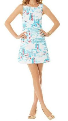 Seriously in love with this print and dress! ❤️❤️Lilly Pulitzer Delia Shift Dress in Watch Out