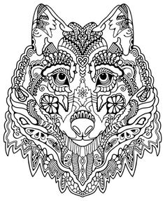 Adult Coloring Pages Dog 3